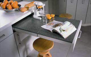 Нестандартные рабочие места на кухне