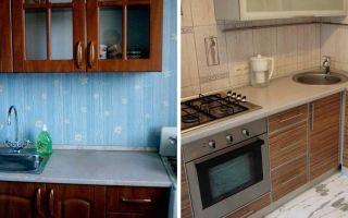 Пластиковые панели для кухни: стеновая панель с рисунком, как обшить кухню, потолок из панелей, отделка, фото