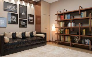 Современные интерьеры со стеллажами: удобство и стиль (44 фото)