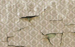 Как правильно наклеивать текстильные обои