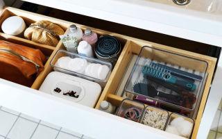 Идеи компактного хранения вещей в ванной комнате