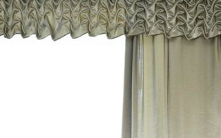 Буфы на шторах: виды и применение