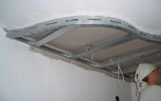 Двухуровневый потолок из гипсокартона своими руками. фото
