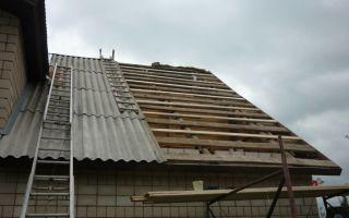 Крыша из шифера. укладка шифера