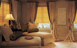 Шторы в интерьере: подбор цвета и сочетание с декором (+40 фото)