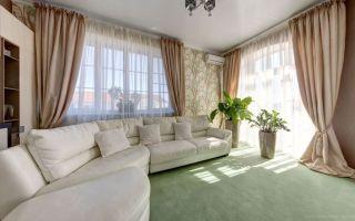 Дизайн штор для гостиной: основные правила декора