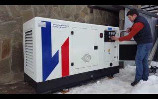 Запуск дизель-генератора