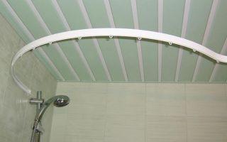 Выбор полукруглых карнизов для оформления ниш, ванных комнат и нестандартных окон