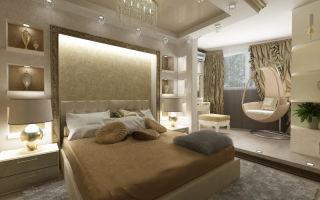 Дизайн спальни 20 кв.м: особенности интерьера