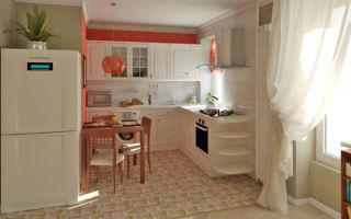 Каким должен быть дизайн совмещенного с кухней зала