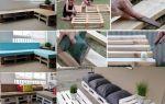 Как собрать диван из поддонов своими руками?
