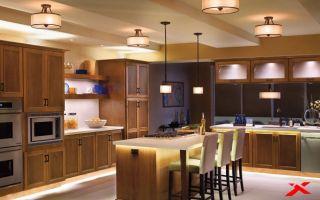 Идеальное освещение кухни