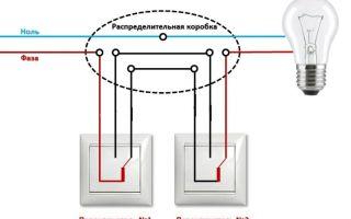 Проходные выключатели. принцип, подключение и установка проходных выключателей