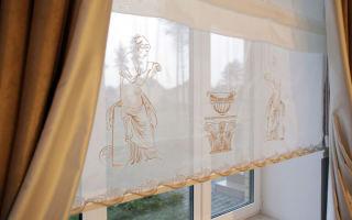 Какую ткань с вышивкой выбрать для штор?