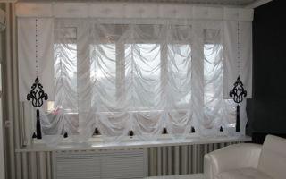 Шторы из вуали – изящное декорирование окна