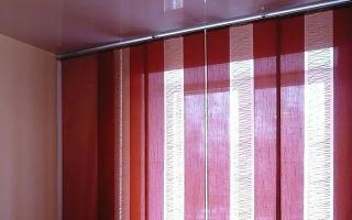 Японские шторы своими руками: мастер-класс по пошиву