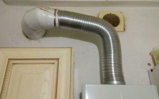 Вытяжные трубы для газовых колонок и особенности вытяжки для газовых колонок