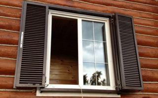 Металлические ставни на окна: виды и их предназначение