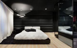 Черно белый интерьер спальни: стилевые решения и правила оформления
