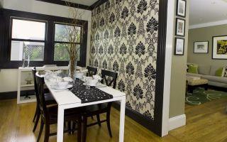 Современные обои: дизайн комнаты, фото 2017, идеи для дома, интерьер стильный, как поклеить квартиру, виды, двух цветов на кухню, видео