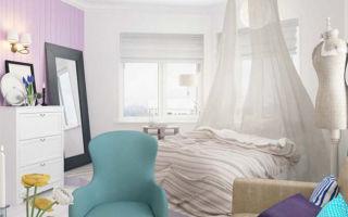 Идеал однокомнатной квартиры для молодой девушки