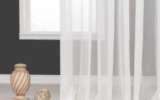 Какими бывают прозрачные шторы и их использование в интерьере