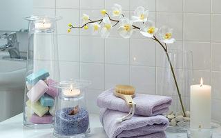 Аксессуары для ванной комнаты: ароматические свечи и их применение в ванной