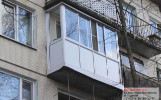 Как происходит алюминиевое остекление балкона