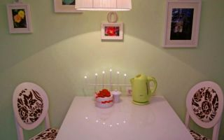 Практика применения обоев под покраску на кухне