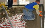 Толщина стяжки для водяного теплого пола: как залить теплый водяной пол своими руками