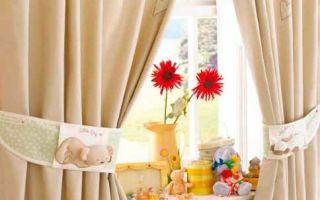Тюль в детскую: оригинальные идеи декорирования окна