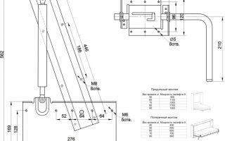 Подъемная кровать своими руками: изготовление и сборка