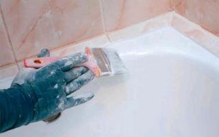 Как правильно красить ванну?