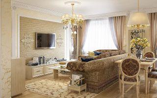 Особенности и секреты дизайна гостиной в классическом стиле