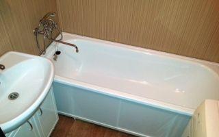 Ванна: эконом ремонт своими руками, фото инструкция