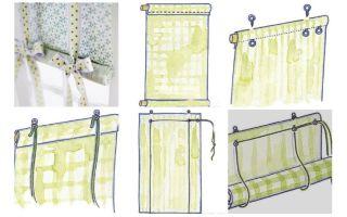 Как красиво сделать шторы: пошаговая инструкция