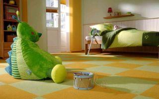 Ковролин в детскую комнату: на что обратить внимание при выборе?
