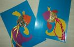 Шаблон рыбка золотая – аппликация из цветной бумаги (мастер-класс)