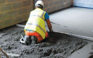 Как залить пол бетоном? практические советы мастеров