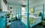 Бирюзовый цвет в интерьере каждой комнаты (50 фото)