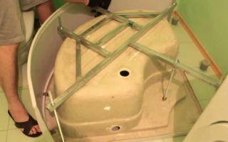 Душевая кабина своими руками. как установить душевую кабину самостоятельно? фото