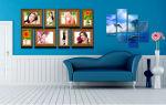 Как сделать картину из обоев своими руками: оригинальный декор (+53 фото)