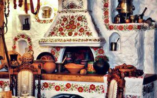 Дачная печь заиграет свежими красками
