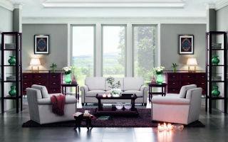 Три способа расстановки мебели в интерьере гостиной комнаты