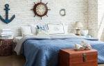 Морская тематика в интерьере — стильное оформление квартиры (+40 фото)