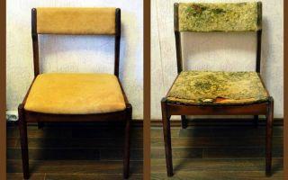 Обивка старых стульев своими руками