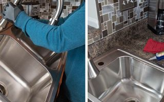 Как правильно и надежно установить на кухне мойку?