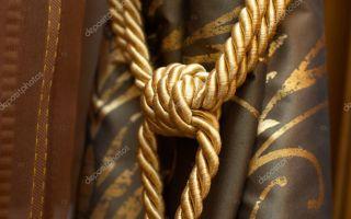 Как завязать кисти для штор: красивые узлы