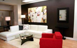 Рекомендации по украшению стен в гостиной