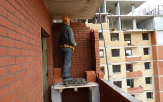 Как сделать балкон своими руками. строительство балкона из кирпича